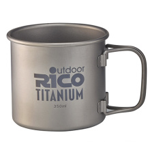 Titan einwandige Becher 350ml