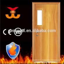 BS476-22 fire rated fire proof wood door hotel