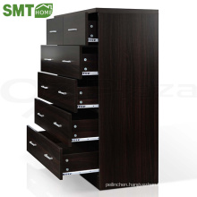 Modern simple style wood drawer cabinet