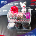 3 Tier Transparent Acrylic Makeup Organizer