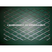 Maille métallique à diamant renforcée Métaux métallisés expansés renforcés en métal moulé