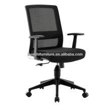 X1-01BE-MF fauteuil de direction pas cher avec accoudoir PP
