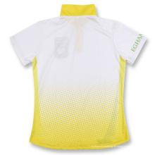 Preiswertes Männer-Stand-Kragen-Kurzschluss-Hülsen-Polo-Hemd
