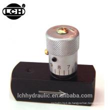 Produkte zu importieren 3/8 Flansch Mehrfachsteuerung Nadelventil
