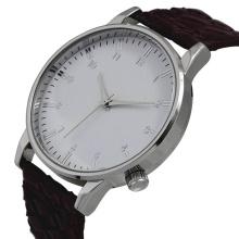 Reloj de cuarzo del nuevo estilo 2016, reloj de acero inoxidable Hl-Bg-084 de la manera