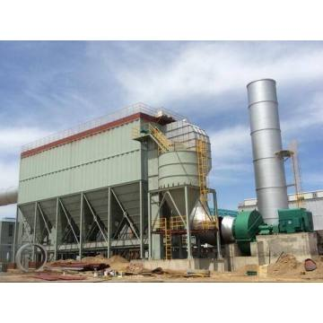 Dust collector for mining furnace