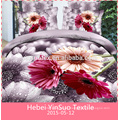 3d 100% cotton home textile comforter set