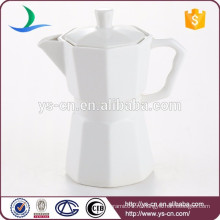 Современный белый керамический чайный горшок