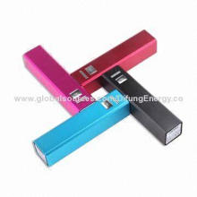 Portable Cellphone Chargers, 2,600mAh, Samsung Battery Cell, 5V/1A USB Port for Mobile Phones