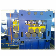 Highway W-beam guardrail cold roll forming machine