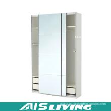 Armário branco lustroso do vestuário do quarto da laca (AIS-W260)