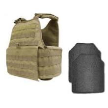 Material de PE dividido de 9 mm Nivel NIJ IIIA 0101.06 Placa a prueba de balas
