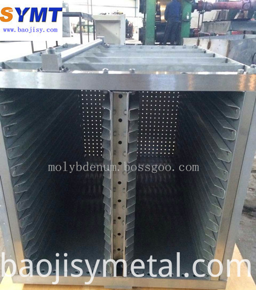Customized molybdenum heat shield parts price