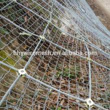 склон ячеистая сеть предохранения от падения утеса плетения стальных канатов проволоки сетки