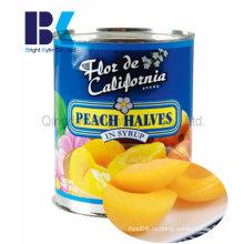 Консервированный желтый персик для семьи и друзей