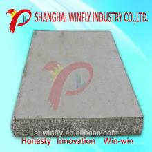 Panel de sándwich de poliestireno de espuma de cemento prefabricado ignífugo de aislamiento ligero