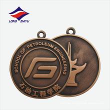 Diseño personalizado die cast celebration good quality graduate medal