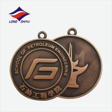 Custom design die cast celebration good quality graduate medal