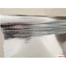 Reflective Insulation Foil, Double Side Foil-Scrim-Kraft Facing, Reflective And Silver Roofing Material