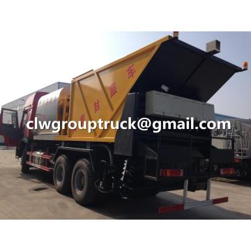 SINOTRUCK Synchronized Crushed Stone Seal Layer Truck