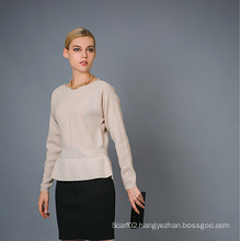 Lady′s Fashion Cashmere Sweater 17brpv010