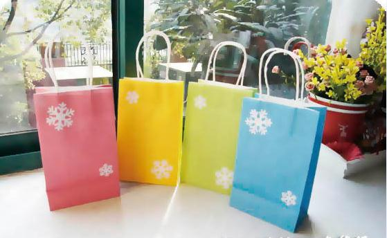 Lovely printed paper bag