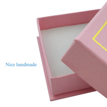 Pink Fashion Luxury  Earring Packaging Paper Box