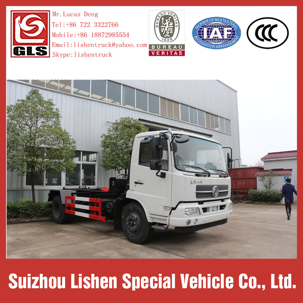 Swing Arm Garbage Truck 8 cbm