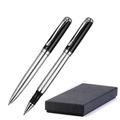 Metal pen & rollerball set