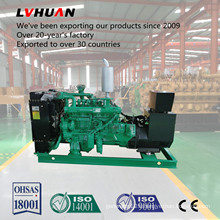 60kw Compressor Water Cooler Biogas Generator Set