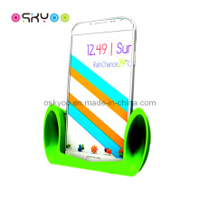 Portable Silicone Holder Stand Speaker for Samsung Galaxy S4 Amplifier