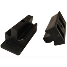 Plástico de madeira composto ao ar livre WPC decking clipes