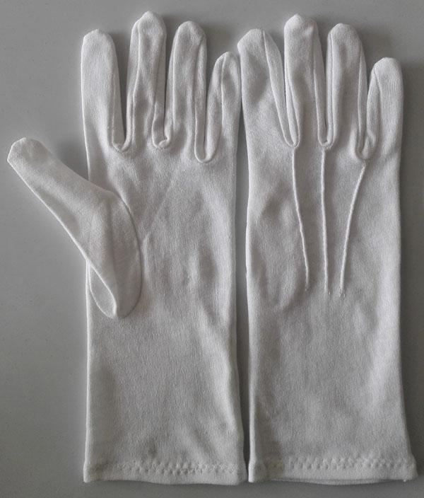 FREE POST Men/'s Cotton Ceremonial//Masonic S//M//L//XL Longer Gloves with Button