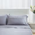 Chine fournisseurs 100% bambou fiber hypoallergénique en gros bambou draps de lit ensembles de literie pour hôtel star