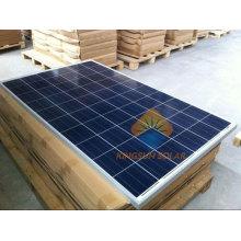 Painel solar poli de 225W, parte superior do telhado