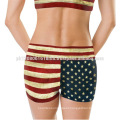 Camo print crossfit shorts for women and girls gym yoga sports wear exercise