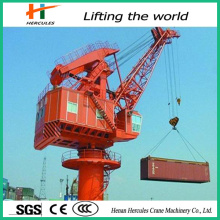 Offshore Portal Loading Crane with Hydraulic Grab Ship Unloader