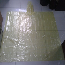 custom promotion cheap disposable PE  poncho