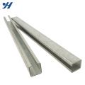 Hot Rolled Perforated Steel Profile c channel steel price,Galvanized Steel C Channel