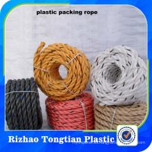 Material reciclado PP / cuerda de giro de polipropileno