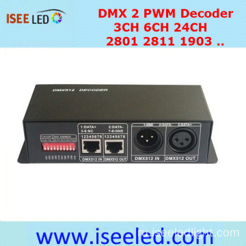 RGB LED Strip Controller DMX PWM-декодер