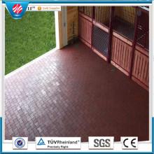 Interlocking Ruber Tile, azulejo de goma al aire libre, azulejo de goma Wearing-Resistant