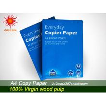 fabricantes de papel de copiadora
