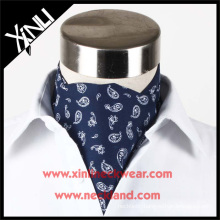 High Quality Mens Fashion Silk Screen Print Tie Royal Ascot
