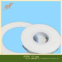 VIRGIN films ptfe pour tissu isolant thermique