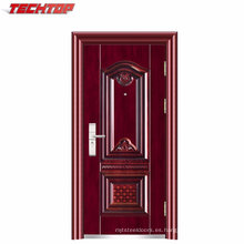 TPS-075 China Golden Supplier Security Apartment Building Entry Puertas de acero en venta