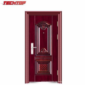 ТПС-075 Китай Золотой Поставщиком безопасности многоквартирного дома стальные входные двери для продажи