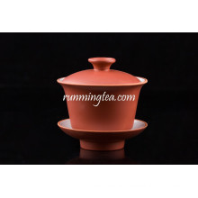 Red Color Porcelain Coffee Tea Cup Set