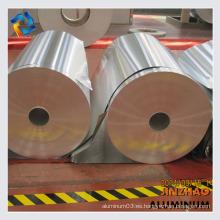 Anodizar bobina / rollo de aluminio pulido para materiales de construcción