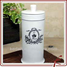 white glaze ceramic facial tissue box covers